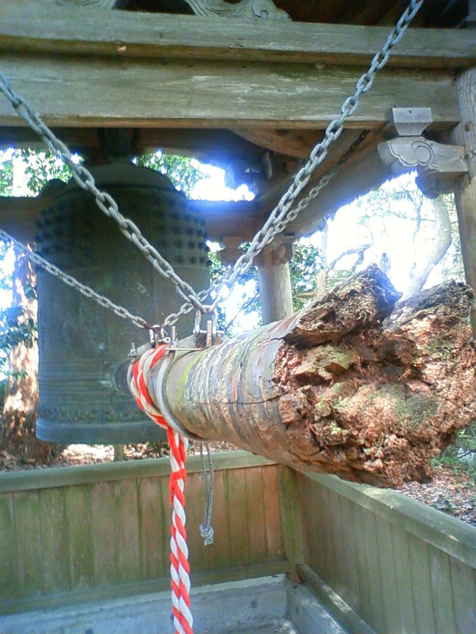 鐘楼の撞木