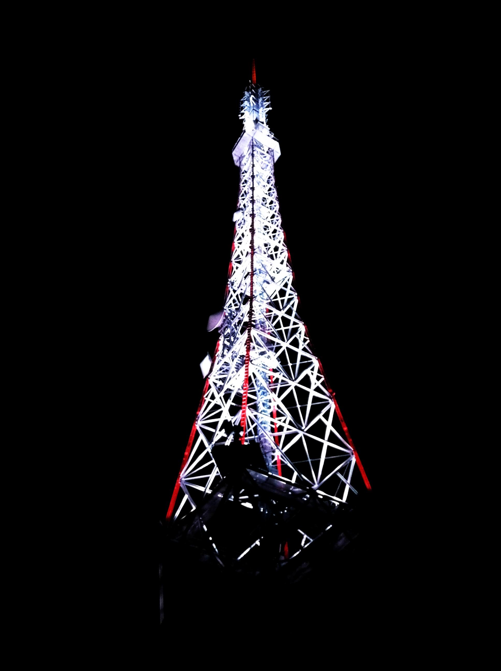 テレビ塔。